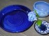 cobalt tableware